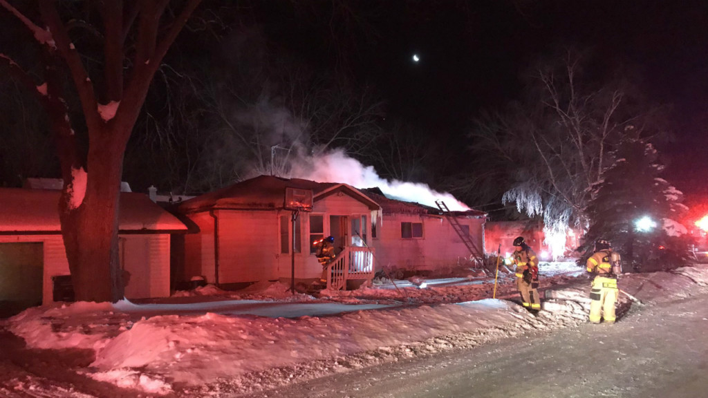 Fire chief: 'Coldest fire I've ever responded to;' Nobody injured after east side house fire
