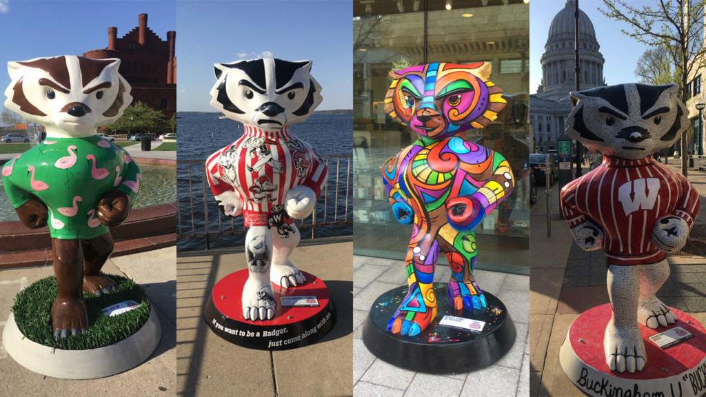 Quest to find all 85 Bucky statues leads to daylong trip, marriage proposal
