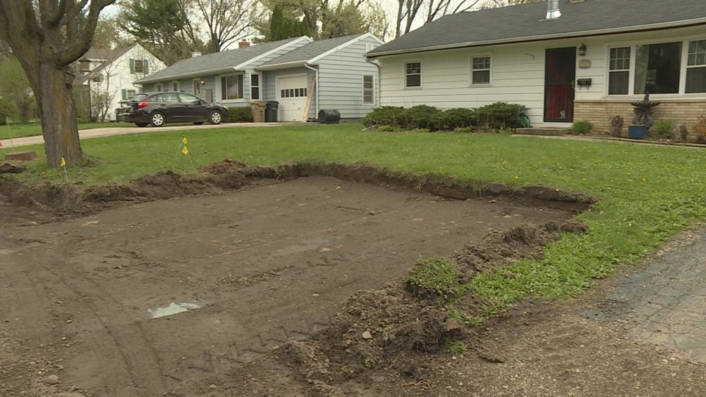 City of Madison digs bus stop out of woman's yard — without telling her first