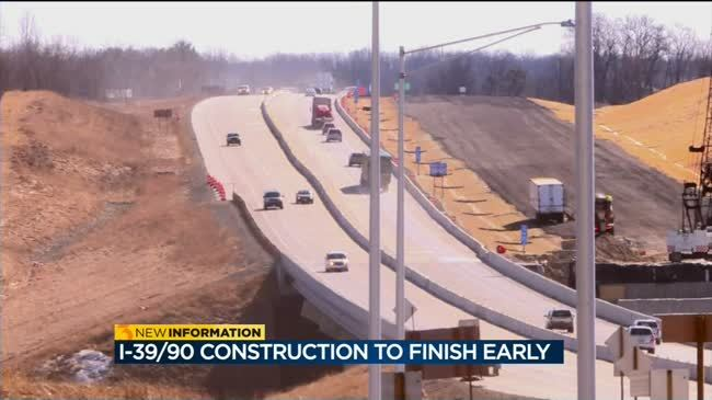 Businesses on I-39/90 excited for end of construction