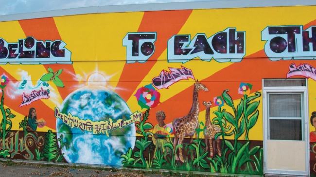 Artists transform Madison with murals