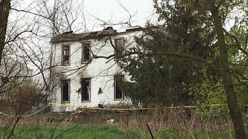 Remains of 2 people found inside home destroyed by fire, officials say