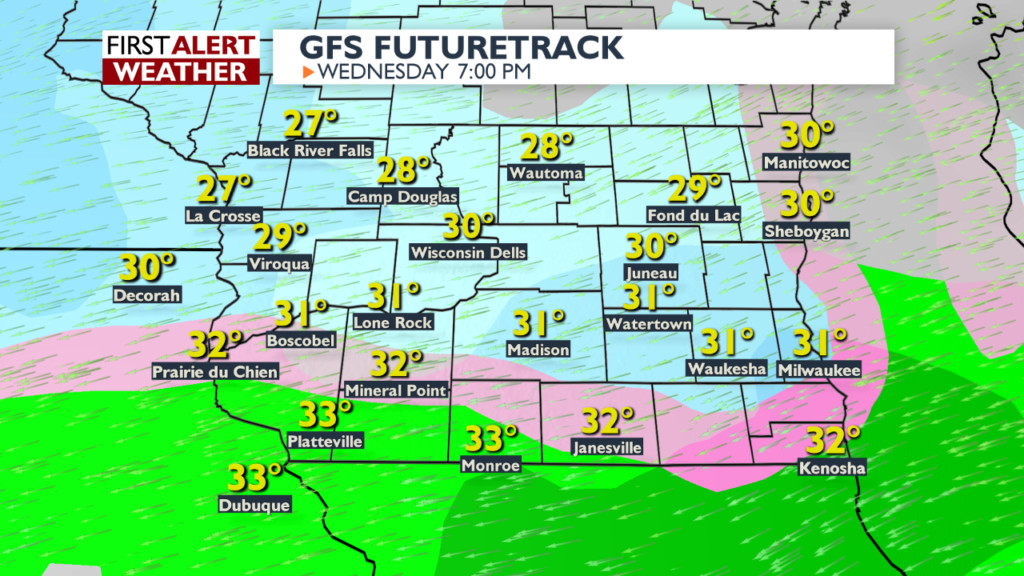Wintry weather to return with snow, freezing rain