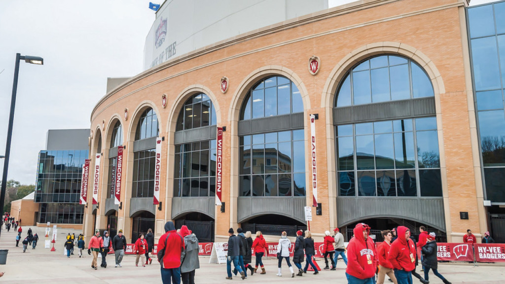Police: 76 ejections at Badgers game against Iowa