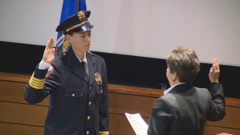 Roman sworn in as chief of UW police
