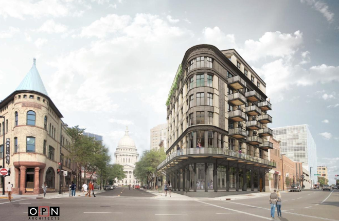 Local business owners propose boutique hotel on King Street
