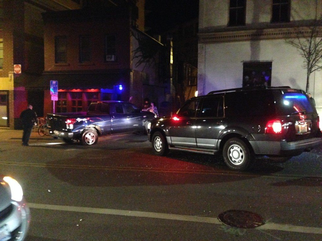 DEVELOPING: Police chase ends in dowtown Madison crash