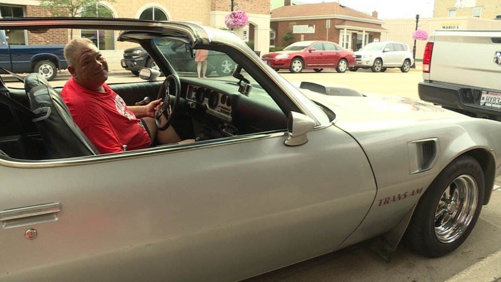 'This is unreal': Family surprises grandpa with fixed-up Trans Am