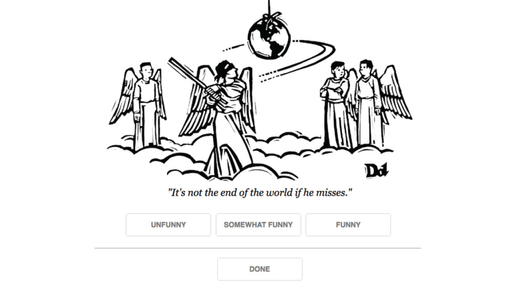 UW–Madison artificial intelligence tool helps choose New Yorker cartoon captions