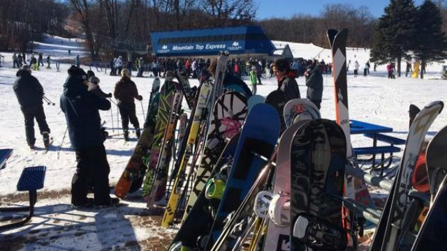 Cascade Mountain ski area thriving during dry winter