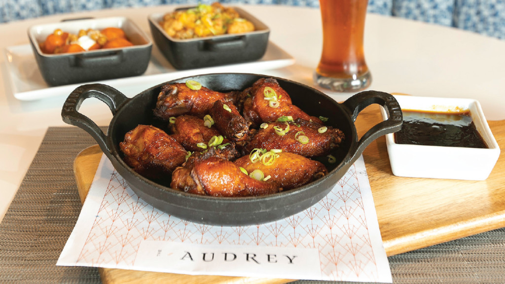 Inspired dining at The Audrey