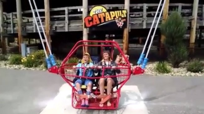 Family thankful son is alive after cable breaks on Dells ride