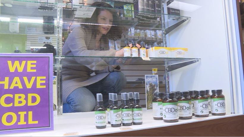 Local stores carrying versions of CBD oil
