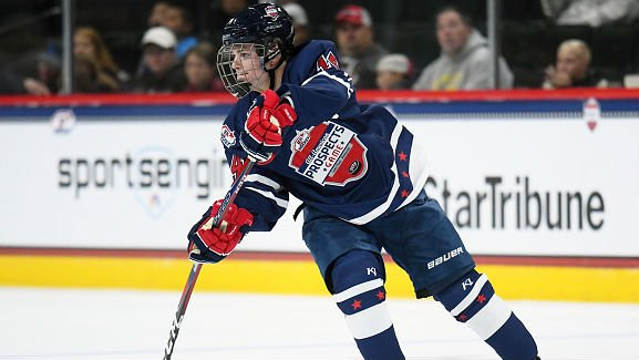 Wisconsin freshman Caufield not thinking about the NHL… yet