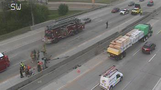 Rollover causes Beltline delays
