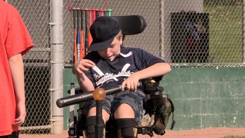 Tonight at 10: Baseball league makes dreams come true for children with special needs