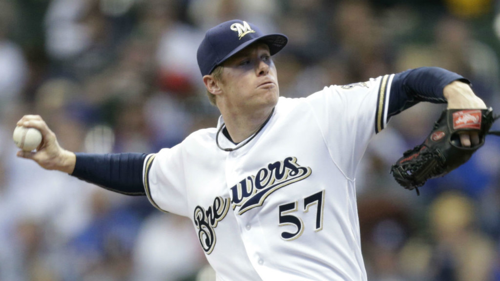 Brewers name Chase Anderson as opening day starter