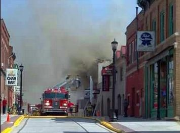 Fire destroys downtown Platteville restaurant