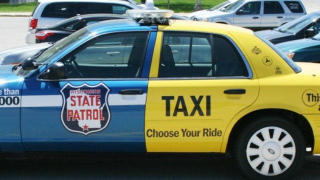 Half State Patrol cruiser, half taxi vehicle earns national recognition