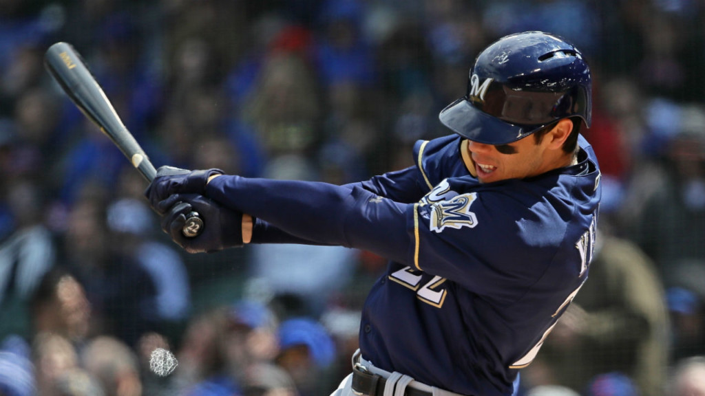 Yelich hits 3-run homer as Brewers beat Cubs, 4-0