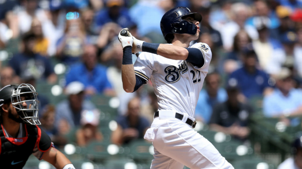Yelich to bat leadoff for National League All-Stars