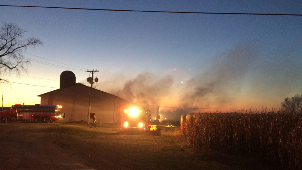 Barn fire causes $75,000 in damage