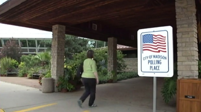 Voting steady at some Wisconsin polls