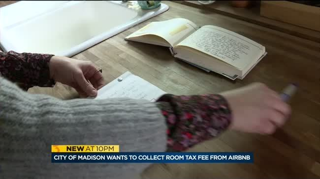 City of Madison wants to collect room tax fee from Airbnb