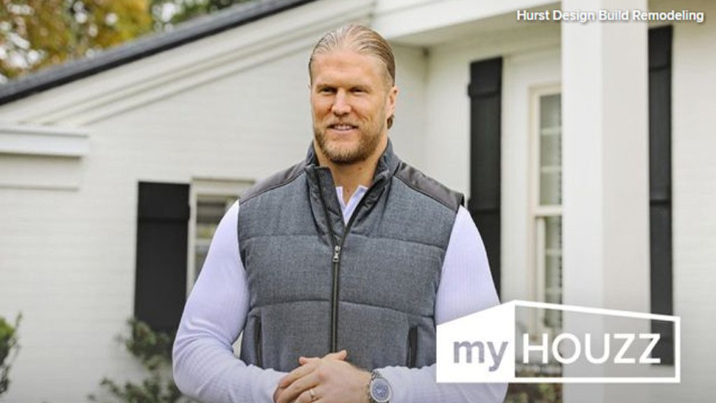 Green Bay Packers linebacker appears on home remodeling show