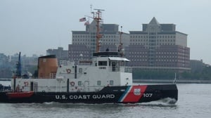 Coast Guard rescues kayaker crossing Lake Michigan