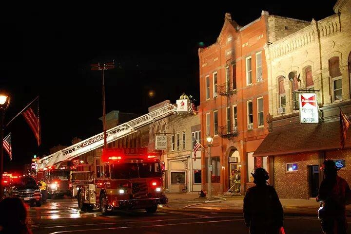 1 injured, several evacuated in apartment fire