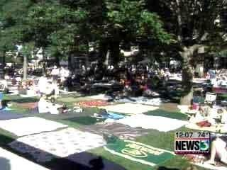 Concerts on the Square canceled this week