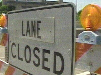 Two lanes of I-90 closed for pavement repairs