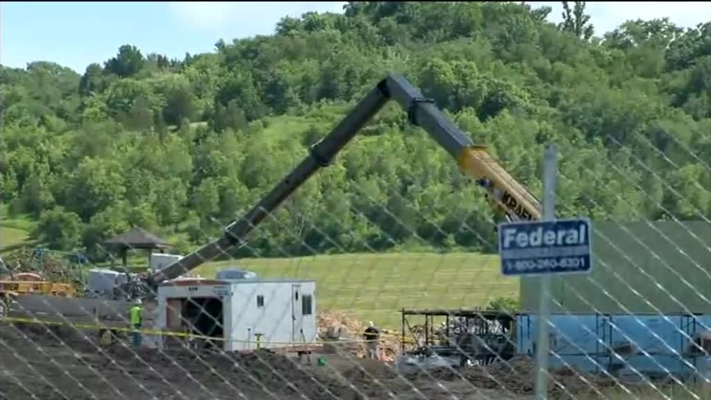 30-year-old killed by broken crane at construction site, officials say