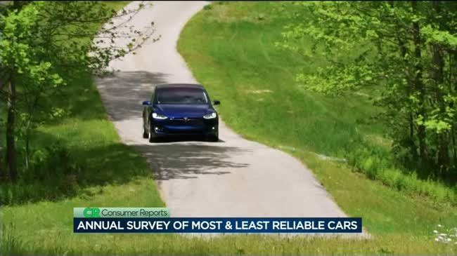 Consumer Reports: 2017 most & least reliable cars