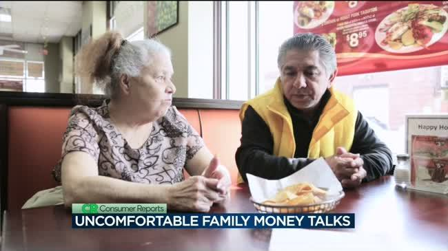 Consumer Reports: How to keep the peace in difficult family money talks