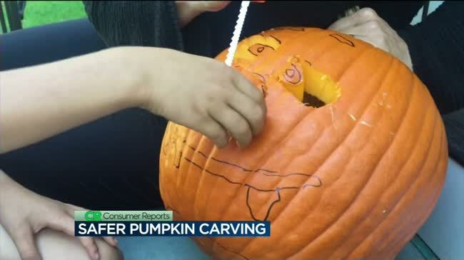 Consumer Reports: Safer pumpkin carving