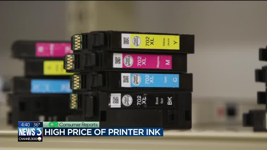 Consumer Reports: Why is printer ink so expensive?