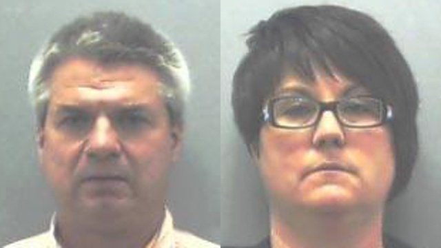 Ex-couple gets jail time in bookkeeping theft case