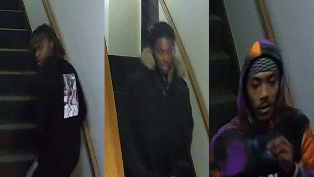 Police release images of men possibly connected to November shots fired incident