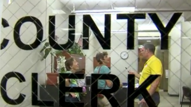 Volunteers, county clerk come together to help marry same-sex couples