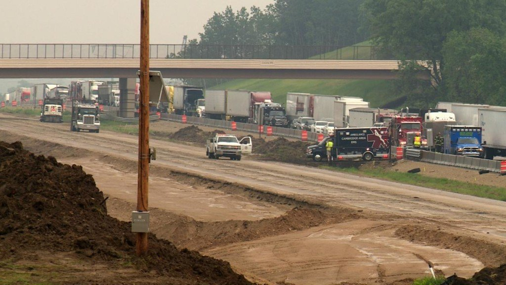 DOT reviews construction site, asks drivers to be alert after high number of Interstate crashes