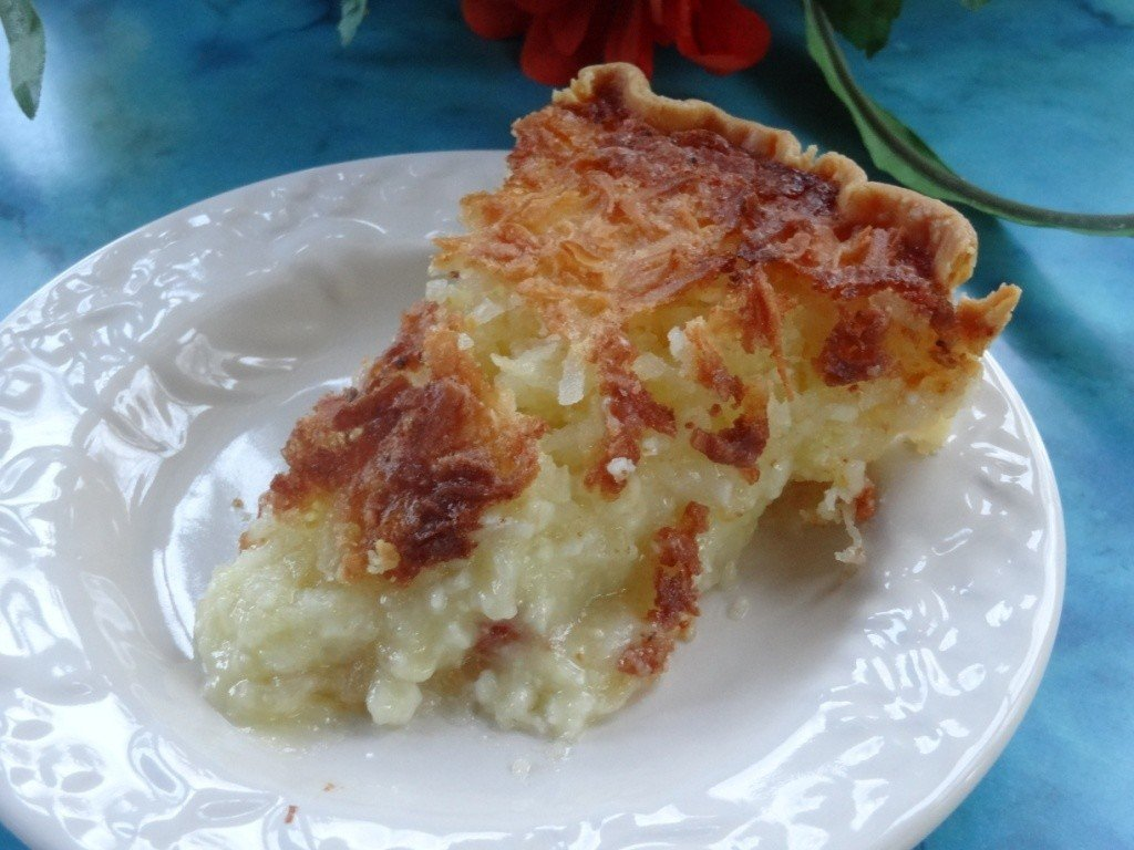 Creamy Coconut Pie 1973 contest winner