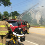 18 people displaced in condo fire that caused severe damage