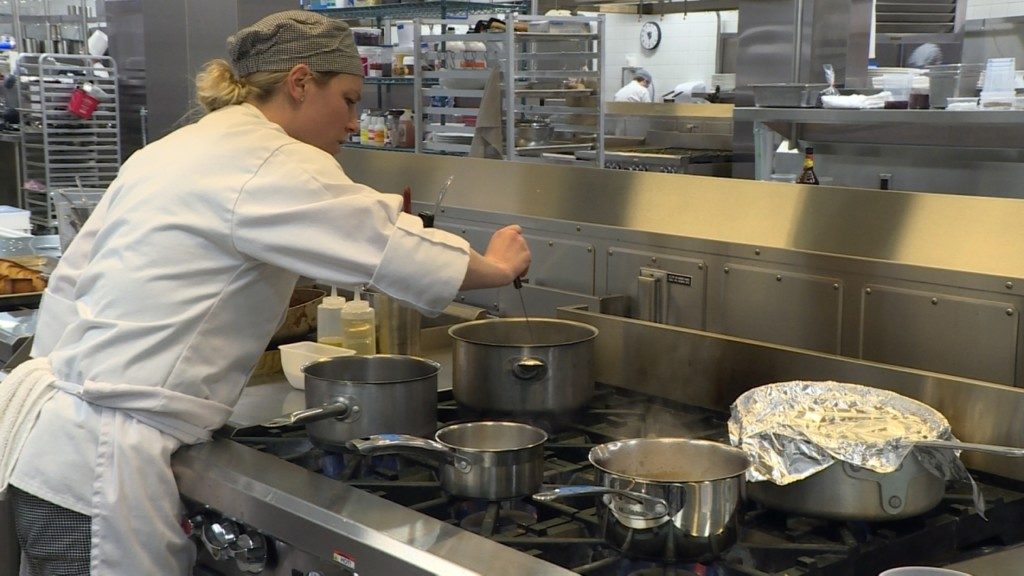 Chefs take on 'Mystery Basket' culinary challenge at Madison College