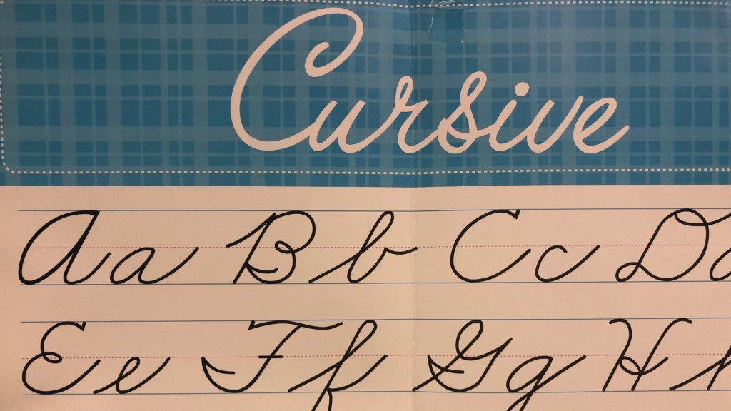 Cursive writing proposal expected to cost schools millions of dollars annually, estimate shows