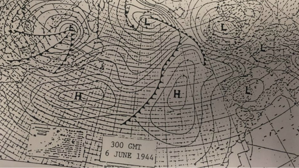 The most important forecast in history: The D-Day weather forecast 75 years later