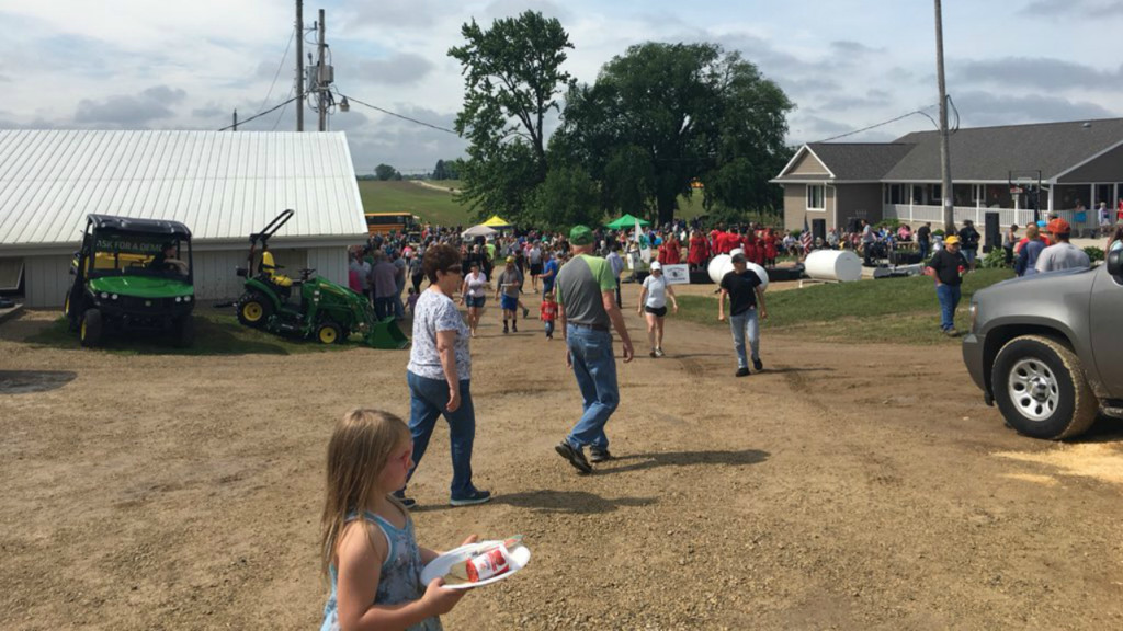 Thousands attend Rock County Dairy Breakfast