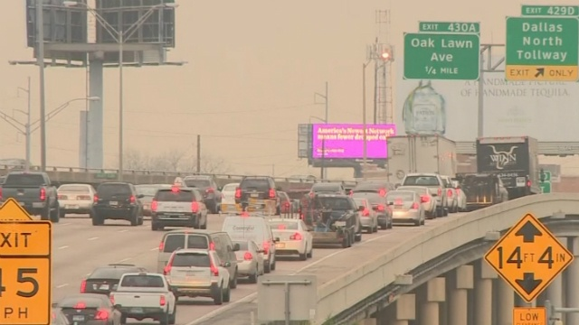 Dallas readies for big traffic challenges with NCAA crowds