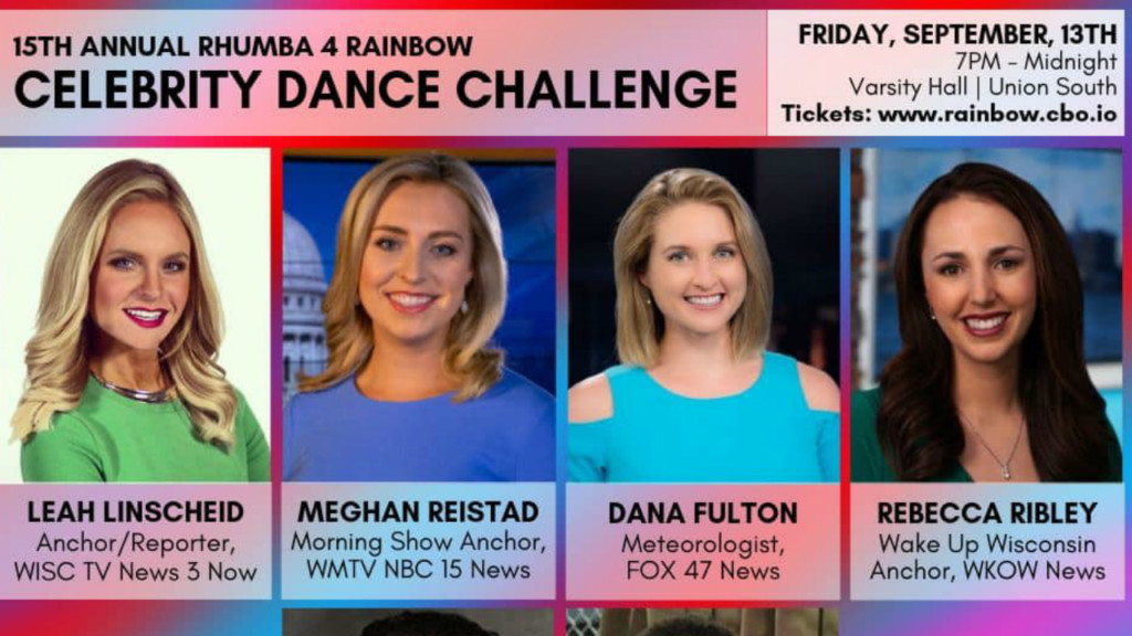 News 3 Now's Leah Linscheid and Dana Fulton to participate in Rhumba 4 Rainbow